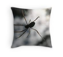 Eight Legged Friend Throw Pillow