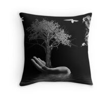 Genesis... In the Beginning Throw Pillow