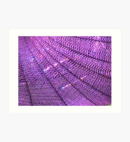 Purple Bling Art Print