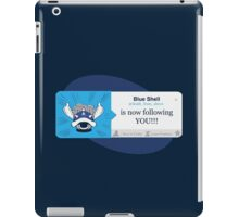 Blue Shell Is Following You iPad Case/Skin