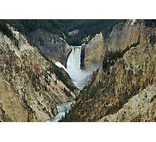 Yellowstone Canyon Photographic Print