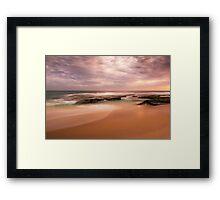 """Koonya back beach Sorrento   """"Muted Hues""""  Framed Print"""