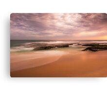 "Koonya back beach Sorrento   ""Muted Hues""  Canvas Print"