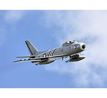 F86 Sabre Photographic Print