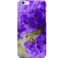 Dreamy blue flowers. iPhone Case/Skin
