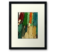 Homespun Framed Print