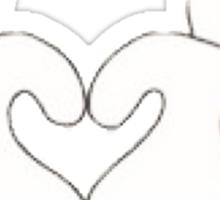 Mickey & Minnie Love Sticker