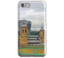 Crossing Bridges, London, United Kingdom iPhone Case/Skin