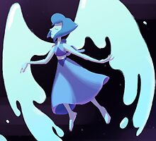 Steven Universe - Winged Water Angel by TehJadeh