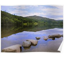 The Lake District: Calm Waters at Grasmere Poster