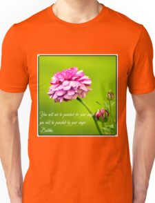 Quote on Anger. Unisex T-Shirt