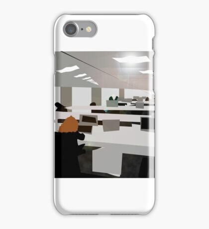 office work iPhone Case/Skin