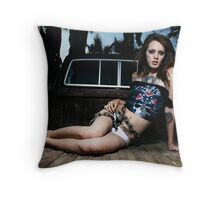 Chained & Locked Up Throw Pillow