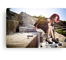 Amphitheater Canvas Print