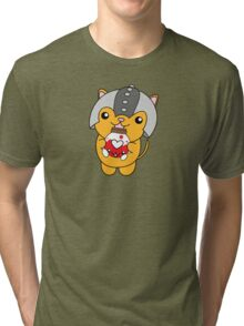 U Can Haz Healz! Orange Variant Tri-blend T-Shirt