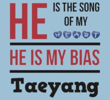 HE IS MY BIAS LIGHT BLUE - TAEYANG Kids Clothes