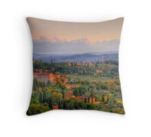 A Touch Of Tuscany Throw Pillow