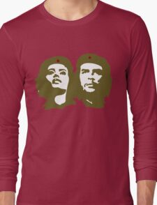 Che  Guevara and Tania Tamara Bunke the only woman Che Loved Long Sleeve T-Shirt
