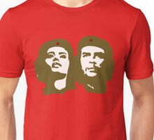 Che  Guevara and Tania Tamara Bunke the only woman Che Loved Unisex T-Shirt