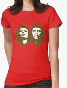 Che  Guevara and Tania Tamara Bunke the only woman Che Loved Womens Fitted T-Shirt