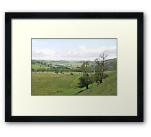 From the Slopes of How Hill Framed Print