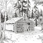 Alaskan Indian Village by BobHenry