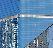 Las Vegas reflections by Morag Anderson