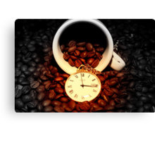 It's Coffee Time! Canvas Print