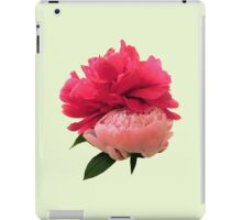 Playful Pink Peonies iPad Case/Skin