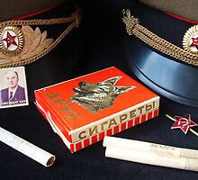 Russian cigarettes by Paola Svensson