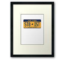 ST8-IST Framed Print
