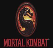 Mortal Kombat Logo by Linnyy