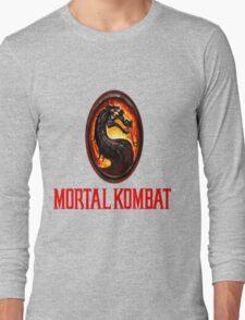 Mortal Kombat Logo Long Sleeve T-Shirt