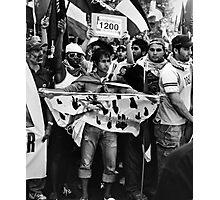 Anti  War Protestors in Melbourne Photographic Print