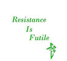 Resistance Is Futile White Ingress by RayenMeraud