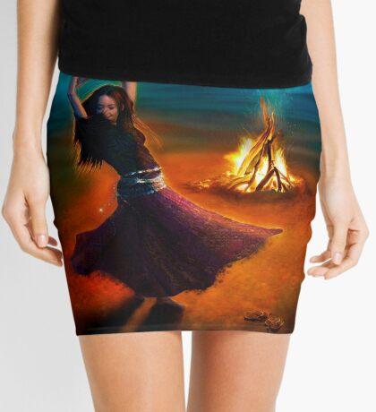 Dance Like a Dervish Mini Skirt