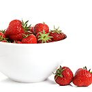 Strawberries in a bowl by Cristina Rossi