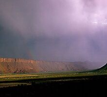 Moonbow Lightning in Utah by Intern2