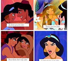 Disney Aladdin: Relationships  by SweetDisneyTee