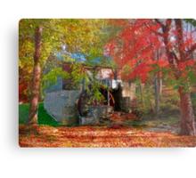 Garvine Mill_2_Fall Metal Print