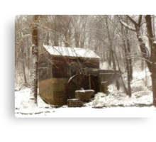 Garvine Mill_3_Winter Metal Print