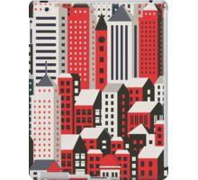 Urban city landscape  iPad Case/Skin