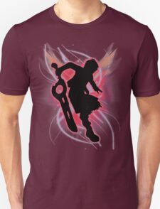 Super Smash Bros. Shulk Silhouette Unisex T-Shirt
