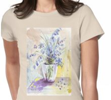 The Bluebell is the sweetest flower Womens Fitted T-Shirt