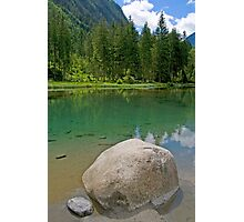 Lake Blausee Photographic Print