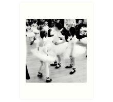 Tutu's & Ballet shoes Art Print