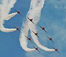 The Red Arrows by Matt Sillence