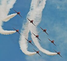 The Red Arrows by Matt Sillence