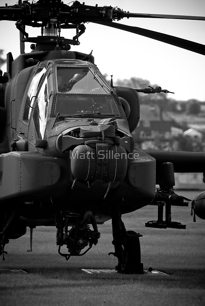 The Informous Apache Attack Helicopter by Matt Sillence