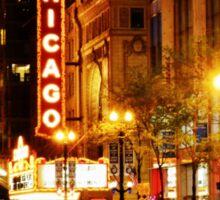 Chicago Theater Sticker